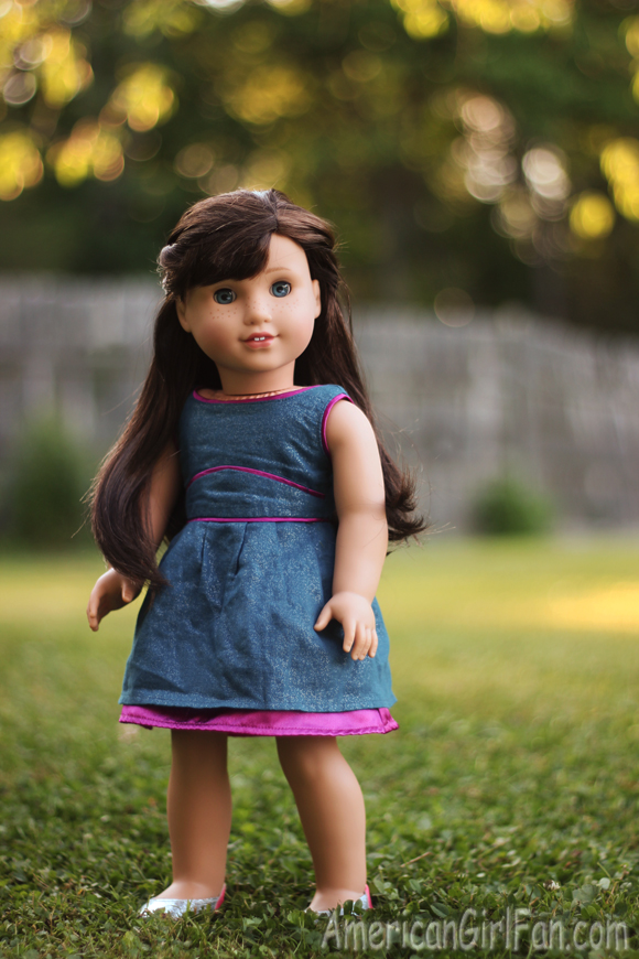 American Girl Doll Double Waterfall Twist Hairstyle
