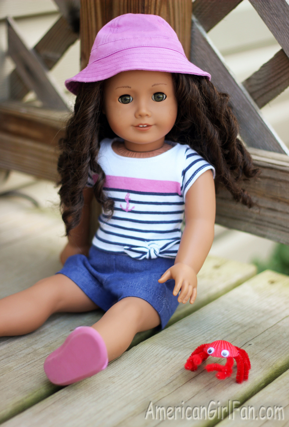 American Girl Doll Crab Craft
