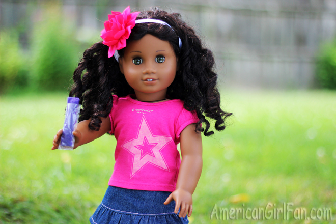 American Girl Doll Craft How To Make Freezer Pops