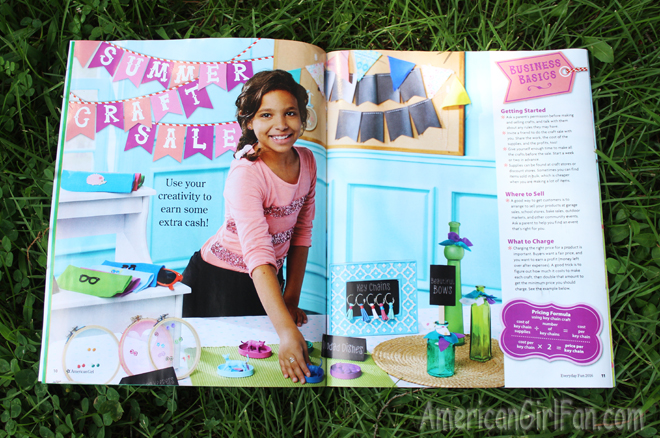 American Girl Magazine Everyday Fun 2016