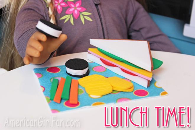 American Girl Doll School Lunch