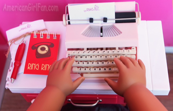 Our Generation Take A Letter Retro Typewriter Set