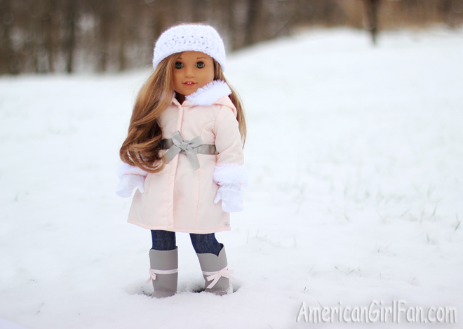 American Girl Doll Snow Day