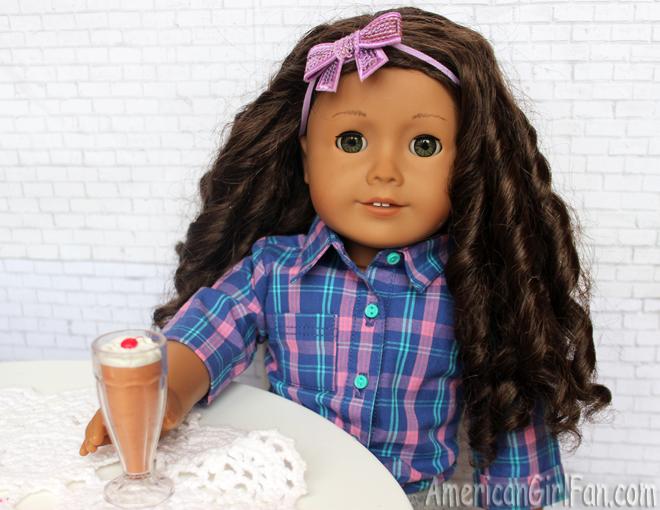 American Girl Doll Blender and Milkshake Set