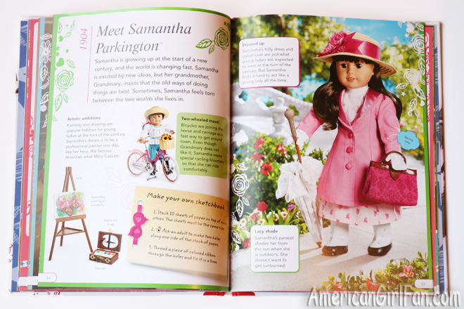 American Girl The Story of America Book