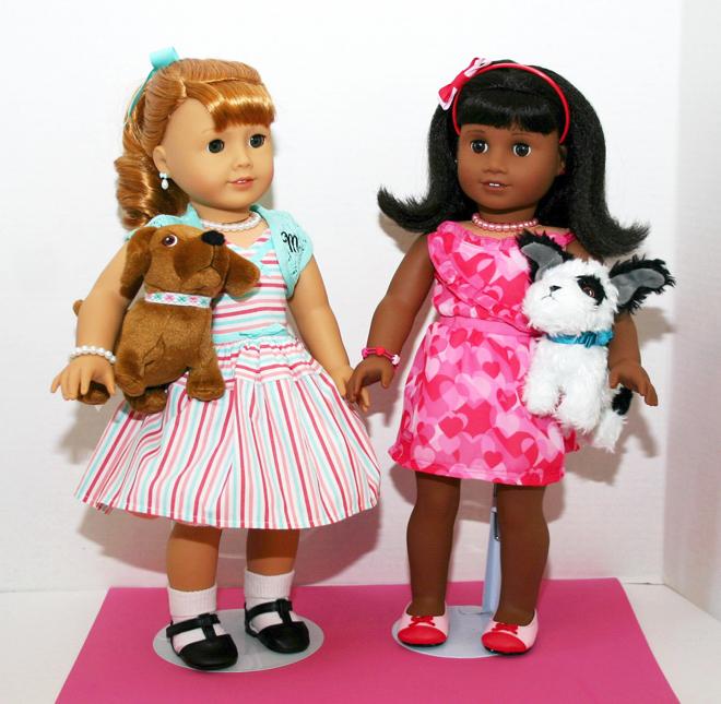 American Girl Dolls Maryellen and Melody