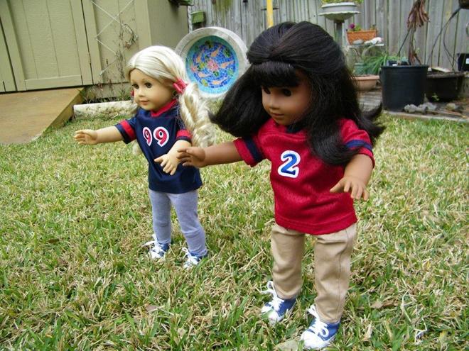American Girl Doll Superbowl