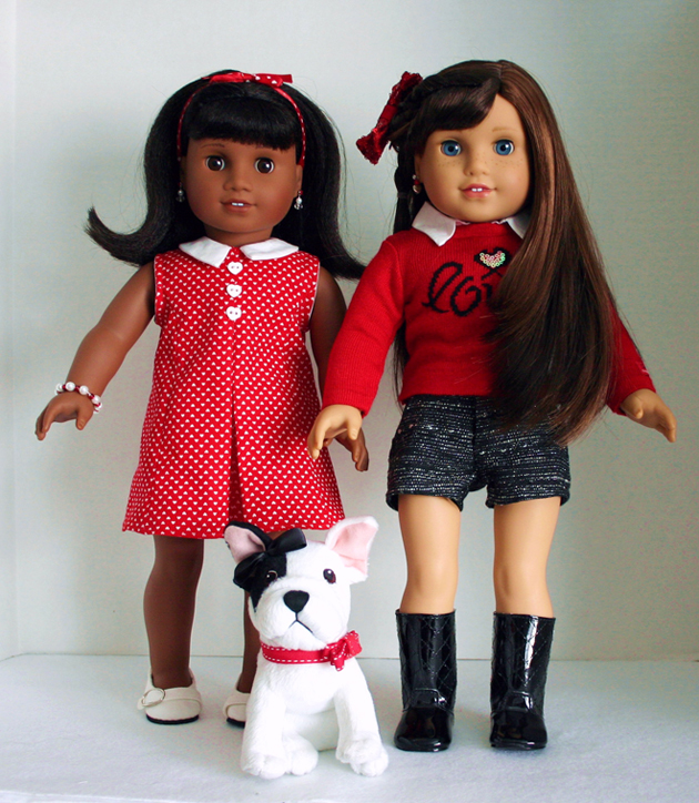 American Girl Dolls Melody and Grace