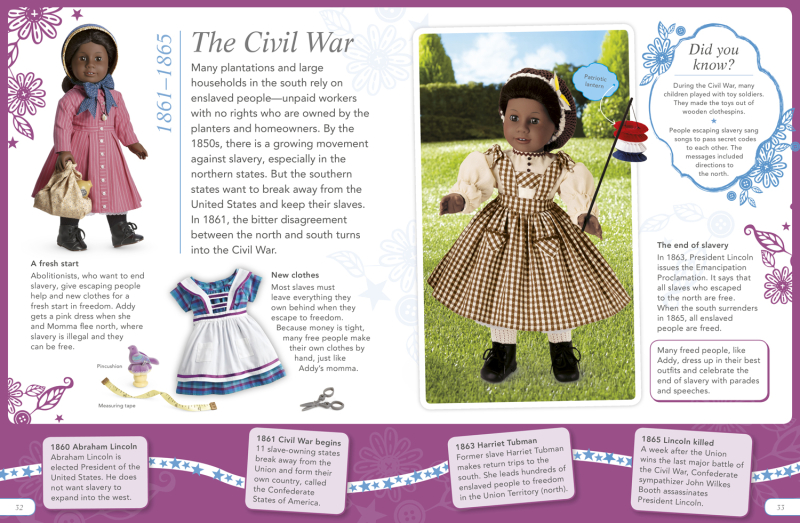 American Girl The Story of America Book Addy Page