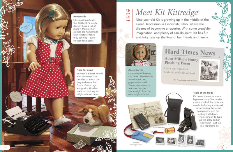 American Girl The Story of America Book Kit Page