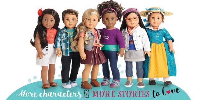 New American Girl Dolls 2017