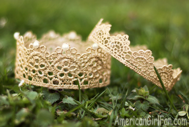 American Girl Doll Craft Lace Crown