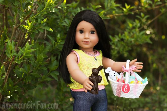 American Girl Doll Easter Basket