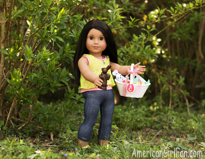 American Girl Doll Easter Basket