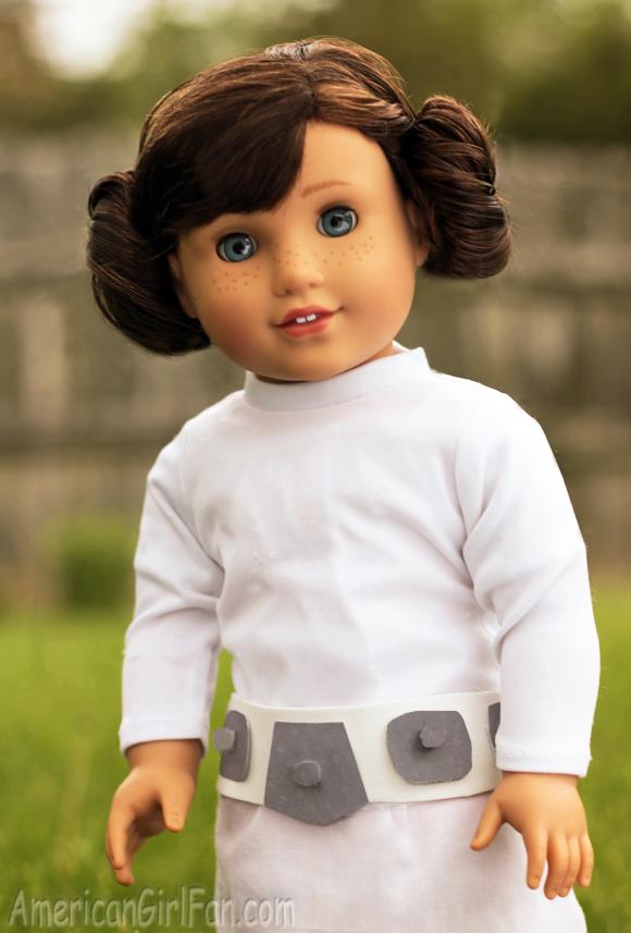 American Girl Doll Star Wars Princess Leia Costume