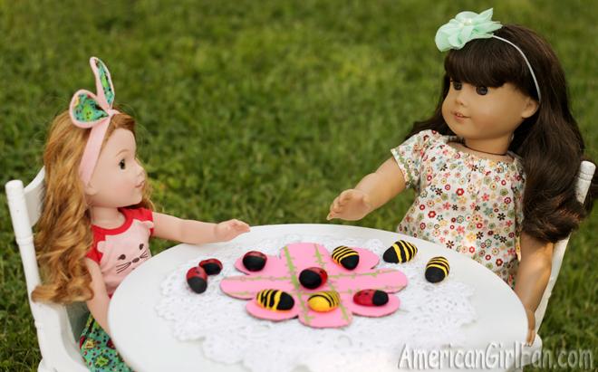 American Girl Doll Tic-Tac-Toe Craft