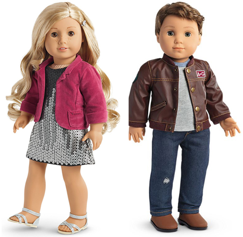 American Girl Doll Tenney and Logan