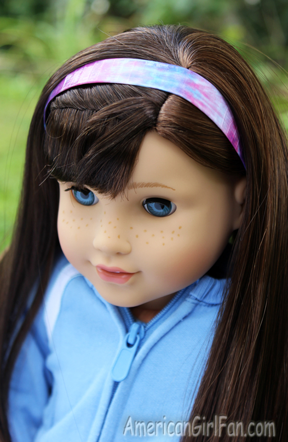 American Girl Doll Hairstyle 4th of July