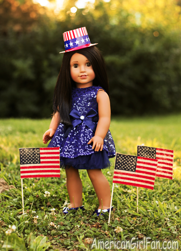 American Girl Doll 4th of July