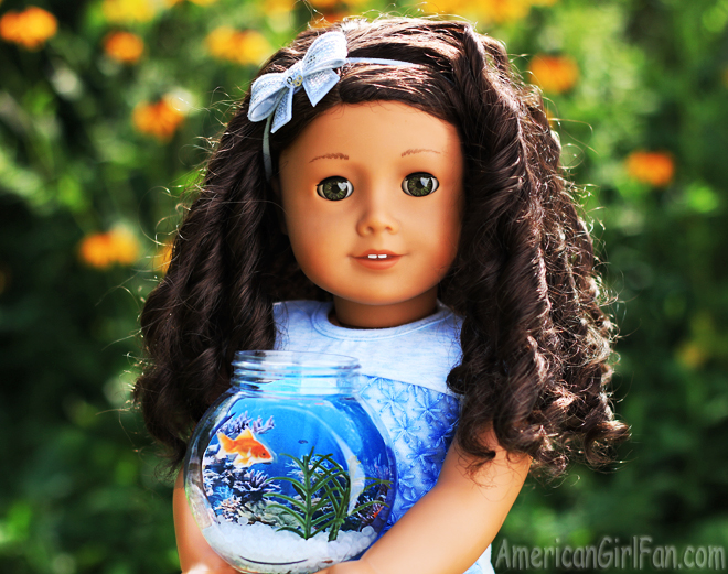 American Girl Doll Fish Bowl Craft