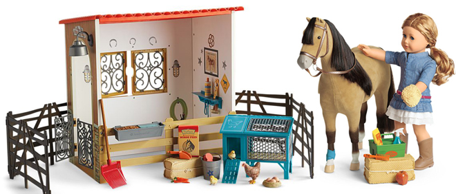 American Girl Doll Stable
