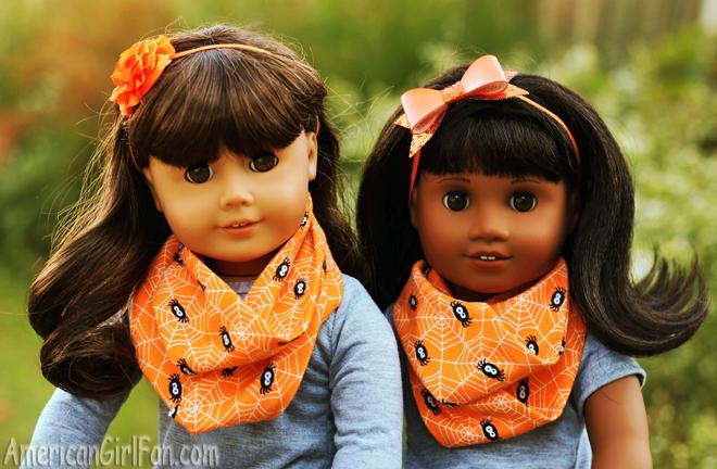 American Girl Doll Halloween Scarf