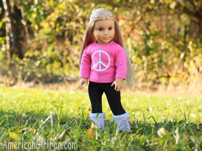 American Girl Doll Hairstyle Rosette Braid