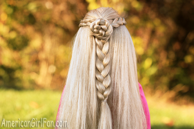 American Girl Doll Hairstyle Rosette Braid