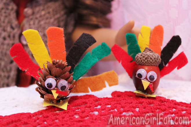 American Girl Doll Thanksgiving Craft