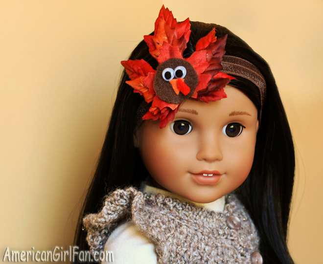 American Girl Doll Thanksgiving Crafts