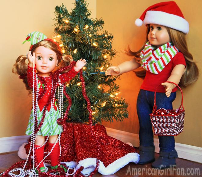 American Girl Doll Christmas Tree