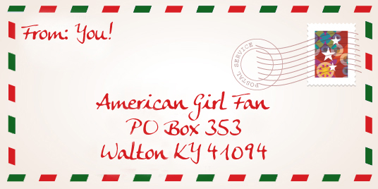 American Girl Fan Christmas Card Exchange