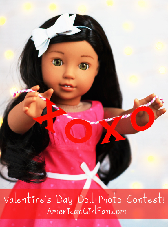American Girl Doll Valentine's Day