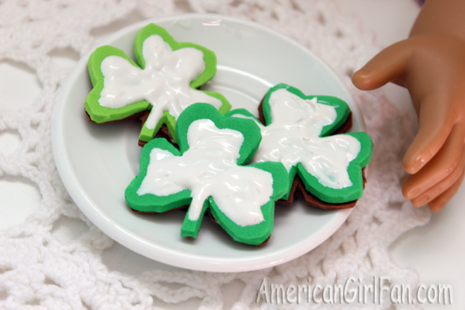 American Girl Doll St. Patrick's Day Crafts